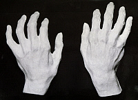 0365388 © Granger - Historical Picture ArchiveLITERATURE.   Cast of the hands of Ferruccio Busoni (Empoli, 1866-Berlin, 1924), Italian pianist, composer and conductor. Full Credit: De Agostini / A. De Gregorio / Granger, NYC -- All Rights Reserved.