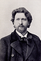 0365446 © Granger - Historical Picture ArchiveLITERATURE.   Ferruccio Busoni (1866-1924) in Dresden in 1897. Full Credit: De Agostini / A. Dagli Orti / Granger, NYC -- All Rights Reserved.