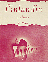 0365500 © Granger - Historical Picture ArchiveLITERATURE.   Title page of the score of Finlandia, symphonic poem by Jean Sibelius (1865-1957). Full Credit: De Agostini / A. Dagli Orti / Granger, NYC -- All rights reserved.