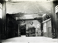 0365963 © Granger - Historical Picture ArchiveLITERATURE.   Set design depicting the inn's interior in Falstaff, opera by Giuseppe Verdi (1813-1901), performed in Paris, April 18, 1894. Full Credit: De Agostini Picture Library / Granger, NYC -- All rights reserved.