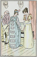 0528779 © Granger - Historical Picture ArchiveJANE AUSTEN: EMMA.   'Mrs. Elton was evidently wanting to be complimented herself - and it was: