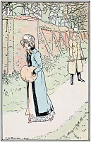 0528782 © Granger - Historical Picture ArchiveJANE AUSTEN: EMMA.   'I was mad enough, however, to resent. I doubted her affection.' Illustration by C.E. Brock, published in a 1906 edition of 'Emma' by Jane Austen.