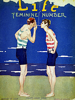 0008137 © Granger - Historical Picture ArchiveMAGAZINE COVER, 1925.   A 'Unisex' cover by Garrett Price for 'Life,' 1925.