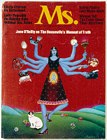 0115383 © Granger - Historical Picture ArchiveMS. MAGAZINE, 1972.   Cover of the first issue of 'Ms.' magazine, spring 1972.
