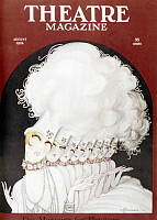 0127191 © Granger - Historical Picture ArchiveCHORUS GIRLS, 1924.   Cover of the American 'Theatre Magazine,' August 1924.