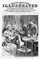 0264986 © Granger - Historical Picture ArchiveCENTENNIAL EXPOSITION, 1876.   'Philadelphia, PA. - The Centennial Exposition - American visitors smoking chibouques in the Turkish bazaar.' Engraving from Frank Leslie's Illustrated Newspaper, 8 July 1876.