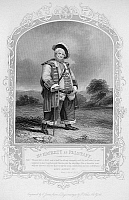 0047190 © Granger - Historical Picture ArchiveSHAKESPEARE: HENRY IV.   Part I. James Henry Hackett as Falstaff. Steel engraving, English, c1870.