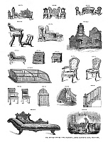0266684 © Granger - Historical Picture ArchiveTYPE FOUNDRY DESIGNS.   Designs for sale by The United States Type Foundry, James Conner's Sons, New York, mid or late 19th century.