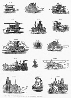 0370457 © Granger - Historical Picture ArchiveTYPE FOUNDRY DESIGNS.   Designs for sale by The United States Type Foundry, James Conner's Sons, New York, mid or late 19th century.