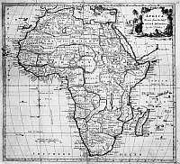 0260300 © Granger - Historical Picture ArchiveMAP: AFRICA, 1776.   'Africa, Drawn from the latest and best Authorities by Thomas Kitchin.' Map, 1776.