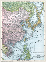 0066322 © Granger - Historical Picture ArchiveMAP: EAST ASIA, 1907.   Map of East Asia, 1907, published in the United States.