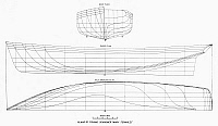0099614 © Granger - Historical Picture ArchiveFISHING SCHOONER PLANS.   Plans of the fishing schooner 'Mary Fernald,' built at Gloucester, Maine, 1875.