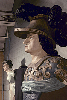 0022577 © Granger - Historical Picture ArchiveSHIP FIGUREHEAD, 1798.   Figurehead of Canopus, French ship captured in Battle of Nile, 1798.