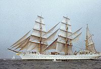 0047853 © Granger - Historical Picture ArchiveGORCH FOCK.   A tall ship of the German Navy, 20th century.