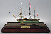 0105597 © Granger - Historical Picture ArchiveHMS AMETHYST, 1799.   Model of HMS 'Amethyst,' a 36-gun fifth-rate British frigate, launched at Deptford, England, in 1799, and wrecked in 1811.