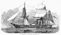 0268361 © Granger - Historical Picture ArchiveFRIGATE: MISSISSIPPI, 1853.   The steam frigate Mississippi of the United States Navy. Wood engraving, English, 1853.