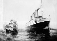 0167267 © Granger - Historical Picture ArchiveS.S. IMPERATOR, c1911.   The S.S. Imperator of the Hamburg-American line. Lithograph, c1911.