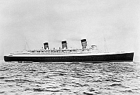 0176335 © Granger - Historical Picture ArchiveOCEAN LINER 'QUEEN MARY.'   The Cunard Line ocean liner 'Queen Mary' Photograph, c1936.