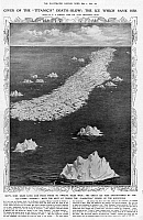0074252 © Granger - Historical Picture ArchiveTITANIC: ICEBERG, 1912.   The ice which sank the