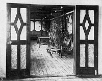 0074286 © Granger - Historical Picture ArchiveTITANIC: PRIVATE DECK, 1912.   The private deck of one of the two exclusive suites, 1912.