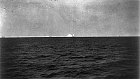0109478 © Granger - Historical Picture ArchiveTITANIC: ICEBERG, 1912.   View from the rescue ship 'Carpathia' of the iceberg which sank the 'Titanic.' Photographed 27 May 1912.
