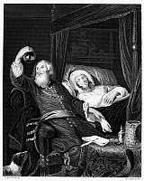 0005679 © Granger - Historical Picture ArchiveDOCTOR AND PATIENT.   Steel engraving after a painting by Jacob Torenvliet (1641-1719).