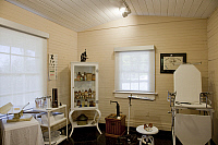 0268898 © Granger - Historical Picture ArchiveMOBILE MEDICAL MUSEUM, 2010.   A 1930s-era doctor's office in the Mobile Medical Museum in the Vincent/Doan House in Mobile, Alabama, built in 1827. Photograph by Carol M. Highsmith, 2010.