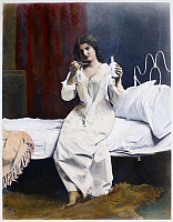 0085589 © Granger - Historical Picture ArchiveHOME MEDICINE, 1901.   Oil over a photograph, 1901, by Fritz W. Guerin of St. Louis, Missouri.