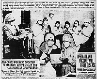 0065895 © Granger - Historical Picture ArchiveFLU EPIDEMIC, 1918.   The fight against influenza as reported in the
