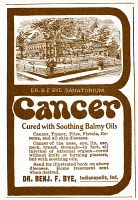 0002542 © Granger - Historical Picture ArchiveQUACK ADVERTISEMENT.   A late 19th century American advertisement for a quack cure.