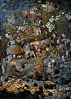 0047274 © Granger - Historical Picture ArchiveDADD: FAIRY FELLER.   'The Fairy Feller's Master-Stroke.' Oil on canvas, c1855-64, by Richard Dadd. RESTRICTED OUTSIDE US.