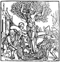 0051382 © Granger - Historical Picture ArchiveTREE OF LIFE.   Yggdrasil in   Norse-Teutonic mythology. Woodcut, 1515, by Hans Baldung Grien.