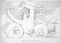0015946 © Granger - Historical Picture ArchiveHOMER: THE ODYSSEY.   Scylla. Line engraving, 1805, by James Neagle after the drawing by John Flaxman.