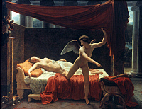 0027556 © Granger - Historical Picture ArchiveEROS AND PSYCHE.   Oil on canvas, 1817, by François Edouard Picot.