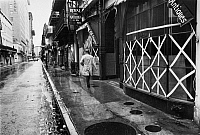 0183574 © Granger - Historical Picture ArchiveNEW ORLEANS: STORM, c1973.   A street in the French Quarter of New Orleans after a heavy storm. Photograph, c1973.