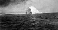 0113689 © Granger - Historical Picture ArchiveICEBERG, c1913.   An iceberg in the Arctic Ocean. Photograph, c1913.