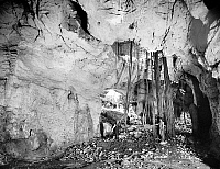 0123629 © Granger - Historical Picture ArchiveEL ABRA, MEXICO: CAVE.   The interior of a cave in El Abra, Mexico. Photographed by William Henry Jackson, late 19th century.