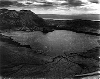 0111476 © Granger - Historical Picture ArchivePHILIPPINES: TAAL VOLCANO.   Water on top of the Taal Volcano, Philippines. Photographed c1911.