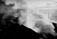 0180577 © Granger - Historical Picture ArchiveAZORES: VOLCANO, 1958.   Pyroclastic and steam eruption from the Caldeira volcano on Faial Island, in the Azores, July 1958.