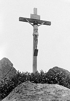 0120189 © Granger - Historical Picture ArchiveTHE CRUCIFIXION.   A reenactment of the crucifixion of Jesus. Photographed by Fred Holland Day, 1898.