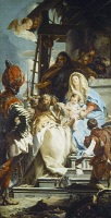 0350652 © Granger - Historical Picture ArchiveADORATION OF THE MAGI.   'The Adoration of the Magi.' Oil on canvas, Giovanni Battista Tiepolo, 1753.