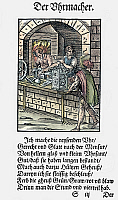 0075488 © Granger - Historical Picture ArchiveCLOCKMAKER, 1568.   Woodcut, 1568, by Jost Amman.