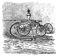 0266679 © Granger - Historical Picture ArchiveFIREFIGHTING, 1882.   An American invention for a horse-powered fire engine and pump. Engraving, English, 1885.