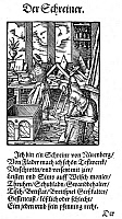 0081477 © Granger - Historical Picture ArchiveJOINER, 1568.   Woodcut, 1568, by Jost Amman.