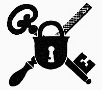 0098635 © Granger - Historical Picture ArchiveSYMBOL: LOCKSMITH.