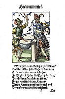 0076801 © Granger - Historical Picture ArchiveKETTLE DRUMMER, 1568.   Woodcut, 1568, by Jost Amman.