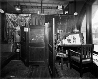 0622006 © Granger - Historical Picture ArchiveART STUDIO, c1905.   Artist studio at Mulford & Petry Company, an advertising company in Detroit, Michigan. Photograph, c1905.