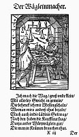 0098601 © Granger - Historical Picture ArchiveSCALE MAKER, 1568.   Woodcut, 1568, by Jost Amman.