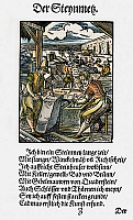 0104577 © Granger - Historical Picture ArchiveSTONEMASONS, 1568.   Woodcut, 1568, by Jost Amman.