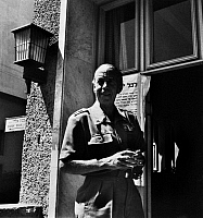 0106983 © Granger - Historical Picture ArchiveFOLKE BERNADOTTE (1895-1948).   Count of Wisborg and Swedish diplomat, appointed as the United Nations mediator in Palestine in 1948. Photographed in Haifa, Israel, 1948.